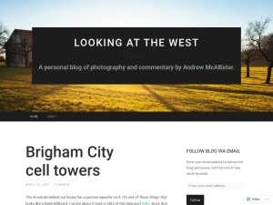 Looking at the West using the Neutra WordPress Theme