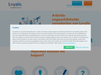 loyalis.nl screenshot