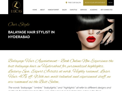 Hair Salons in jubilee hills let your hair do all talking – Lucas salon