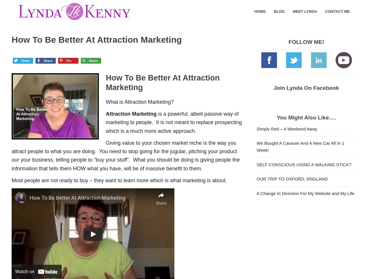 How To Be Better At Attraction Marketing – Lyndak Online