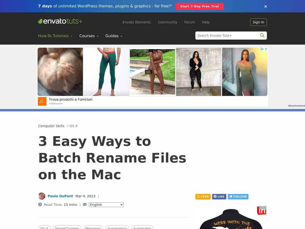 3 Easy Ways to Batch Rename Files on the Mac | Mactuts+