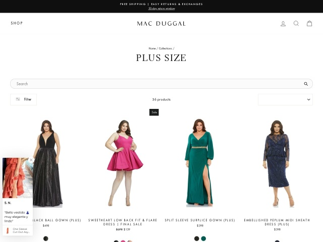 macduggal.com/collection/prom-plus/fabulouss/
