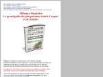 AFFLUENCE FINANCIERE LE GRAND GUIDE