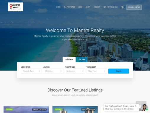 Mantra Realty | Real Estate Agency | Invest in Pune