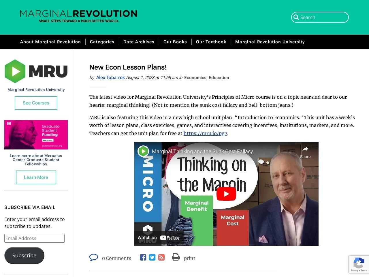 Options for health care coverage reform – Marginal Revolution