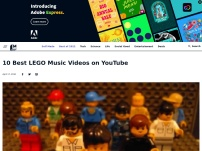 10 Best LEGO Music Videos on YouTube