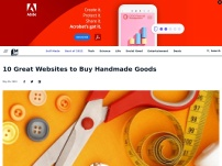 10 Great Sites to Buy Handmade Goods