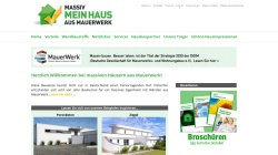 massiv-mein-haus.de Vorschau, Massiv Mein Haus e.V.
