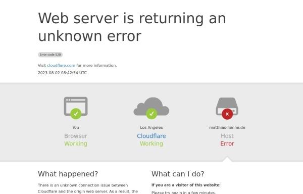 Vorschau von matthias-henne.de, DJ Matthias Henne