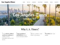 LA Times Media Group Media Kit