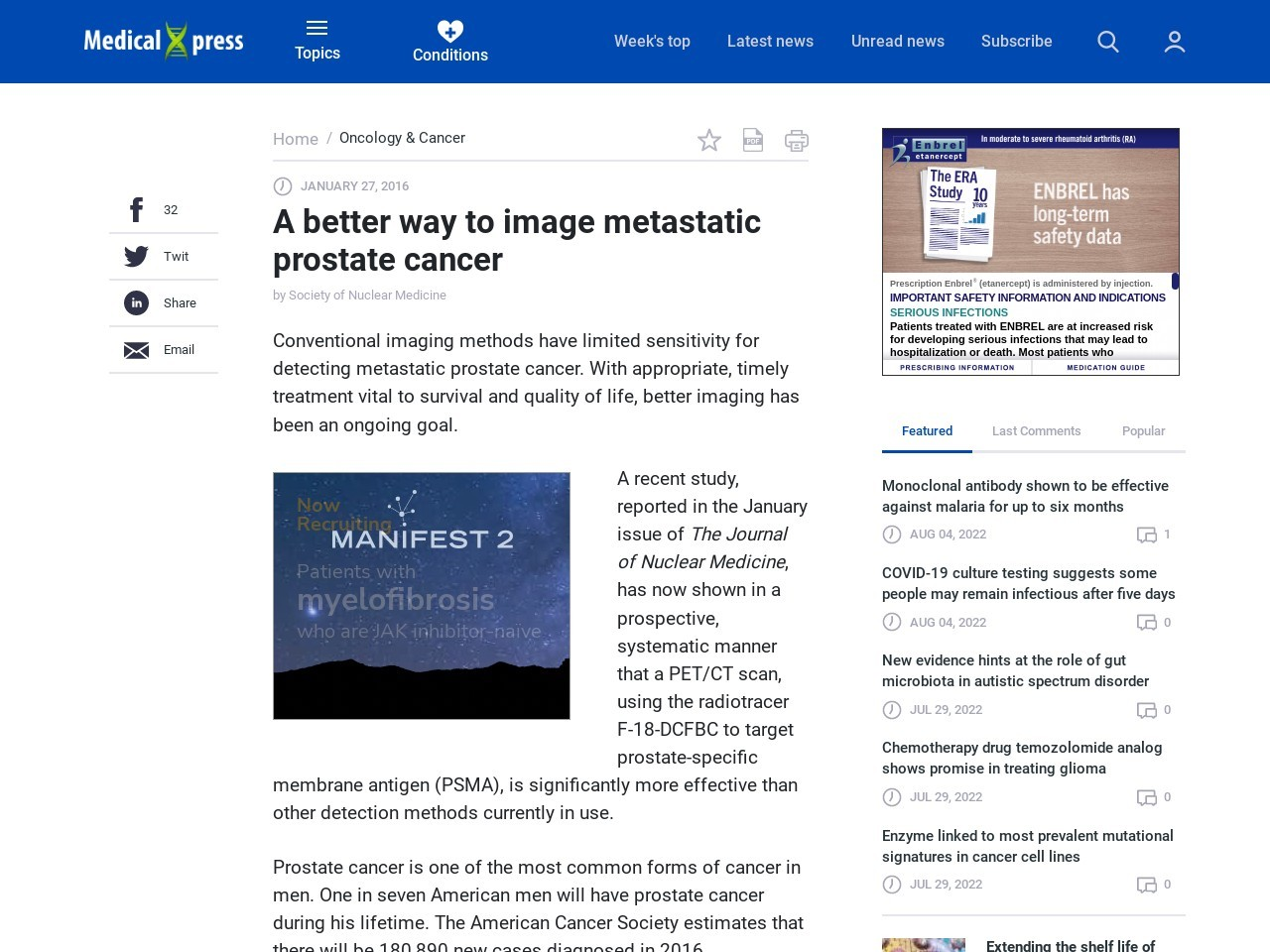 A better way to image metastatic prostate cancer