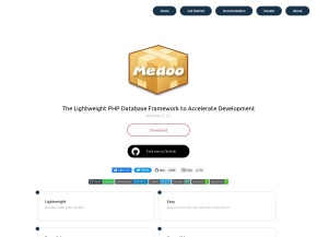 Medoo – The Lightest PHP database framework to accelerate development