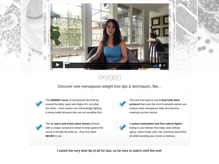 Menopause Belly screenshot