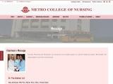 Top Nursing College in Uttar Pradesh | Metro College of Nursing