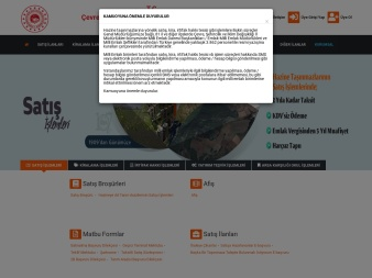 milliemlak.gov.tr screenshot