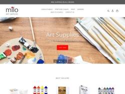 Milo Art Supplies screenshot
