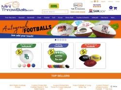 MiniThrowBalls.com screenshot