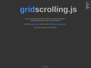 http://mknecht.github.io/gridscrolling.js/