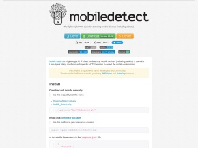 PHP Mobile Detect – lightweight PHP class for detecting mobile devices