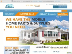 Mobile Home Parts Store screenshot