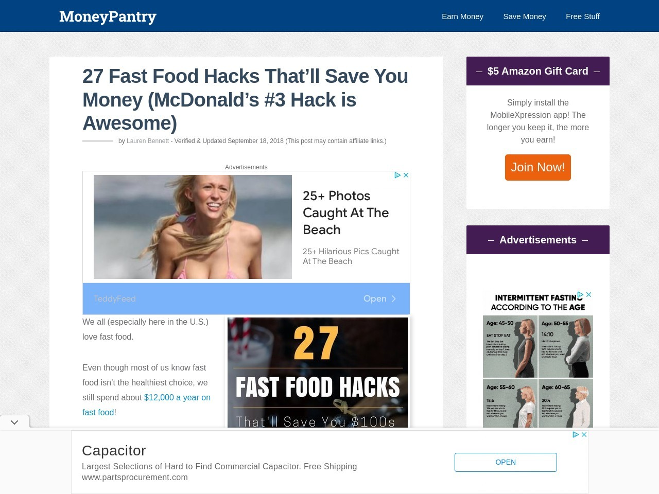 27 Fast Food Hacks That'll Save You Money (McDonald's #3 Hack is Awesome)