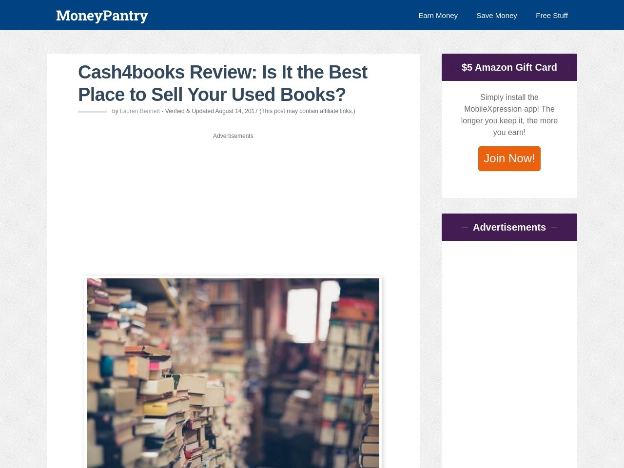 Cash4books Review: Is It the Best Place to Sell Your Used Books?