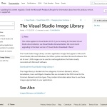 方法: Visual Studio Image Library をインストールする - MSDN