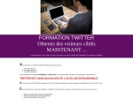 FORMATION TWITTER
