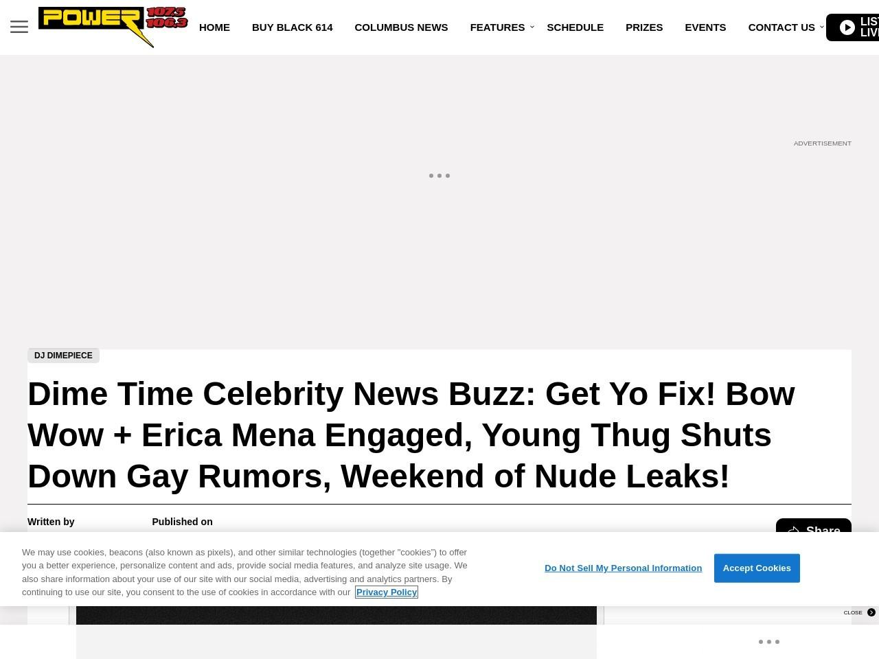 Dime Time Celebrity News Buzz: Get Yo Fix! Bow Wow + …