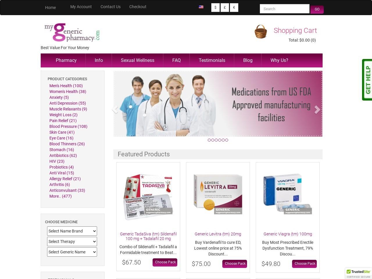 Online Generic Daklinza, Daclatasvir, for USA, Europe, Canada, and Japan from my Generic Pharmacy