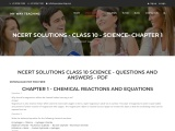 Chemical reactions and equations Free PDF