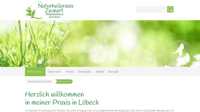 naturheilpraxis-zeunert.de Vorschau, Naturheilpraxis Karin Zeunert