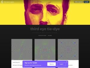third eye tie-dyeのスクリーンショット