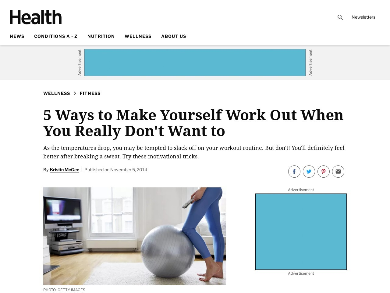 5 Ways to Make Yourself Work Out When You Really Don't …
