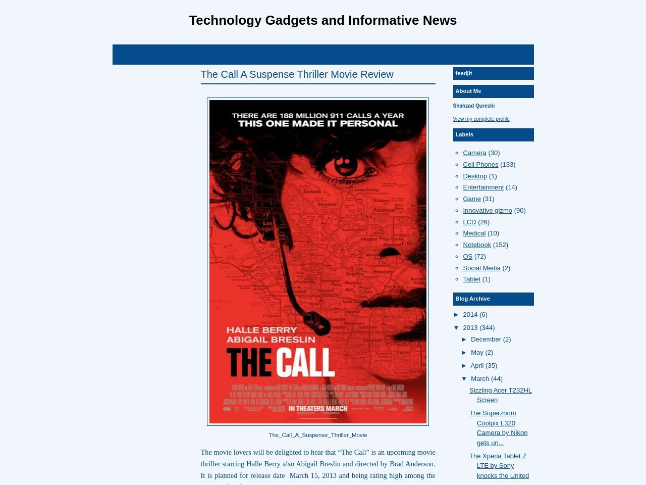The Call A Suspense Thriller Movie Review ~ Technology …