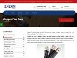 Copper Flex Bars | Nexim Alloys