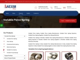 Variable Force Spring | Nexim Alloys