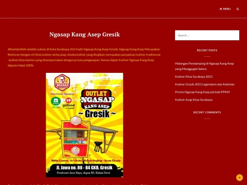 Ngasap Kang Asep Gresik – Ayam Canton & Chasio Gresik, Bebek Ungkep Gresik, Sei Kebo Gresik