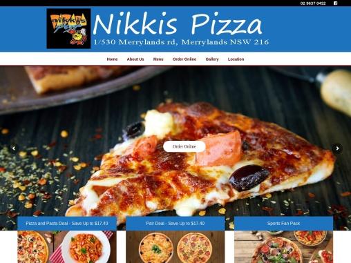 Best pizza Merrylands – Nikkis Pizza