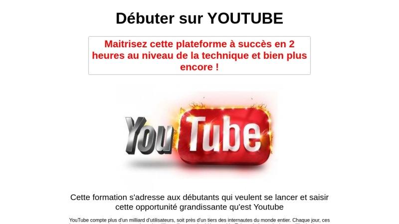 debuter sur youtube
