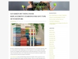 Go Green By Using Foam Replacement Cushions For Any Type Of Furniture