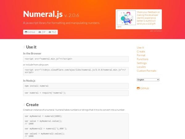http://numeraljs.com/
