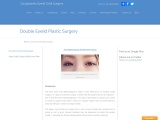 Asian Double Eyelid Plastic Surgery | Blepharoplasty Cost in India | Oculoplastic Eyelid Orbit Surge