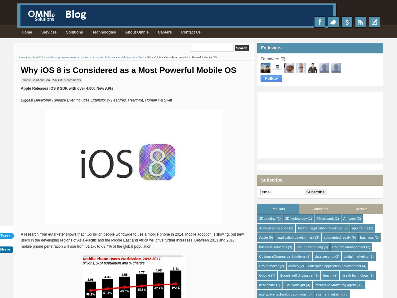 Why iOS 8 is Considered as a Most Powerful Mobile OS …