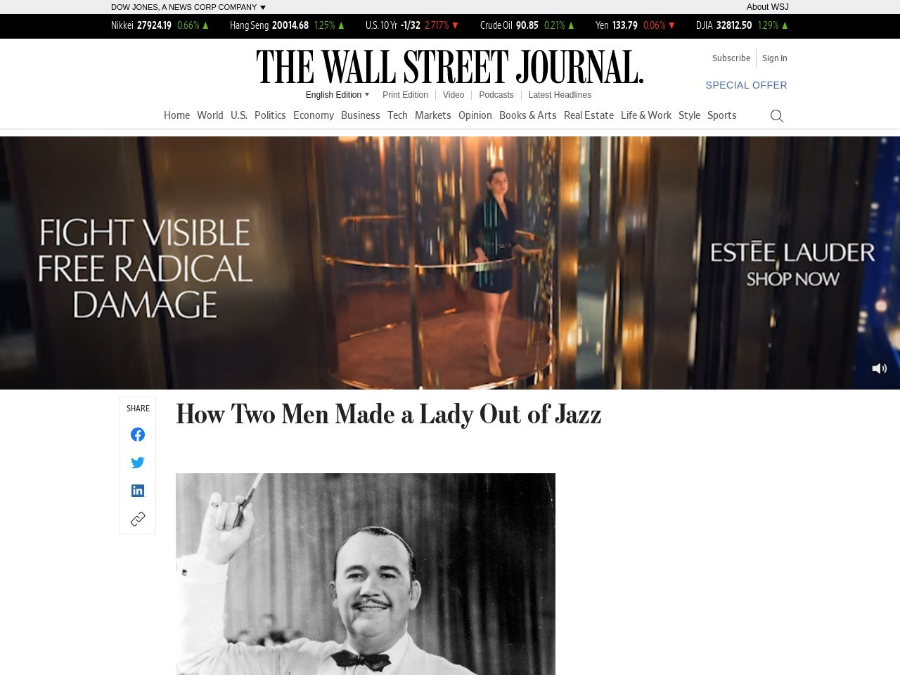 How Two Men Made a Lady Out of Jazz
