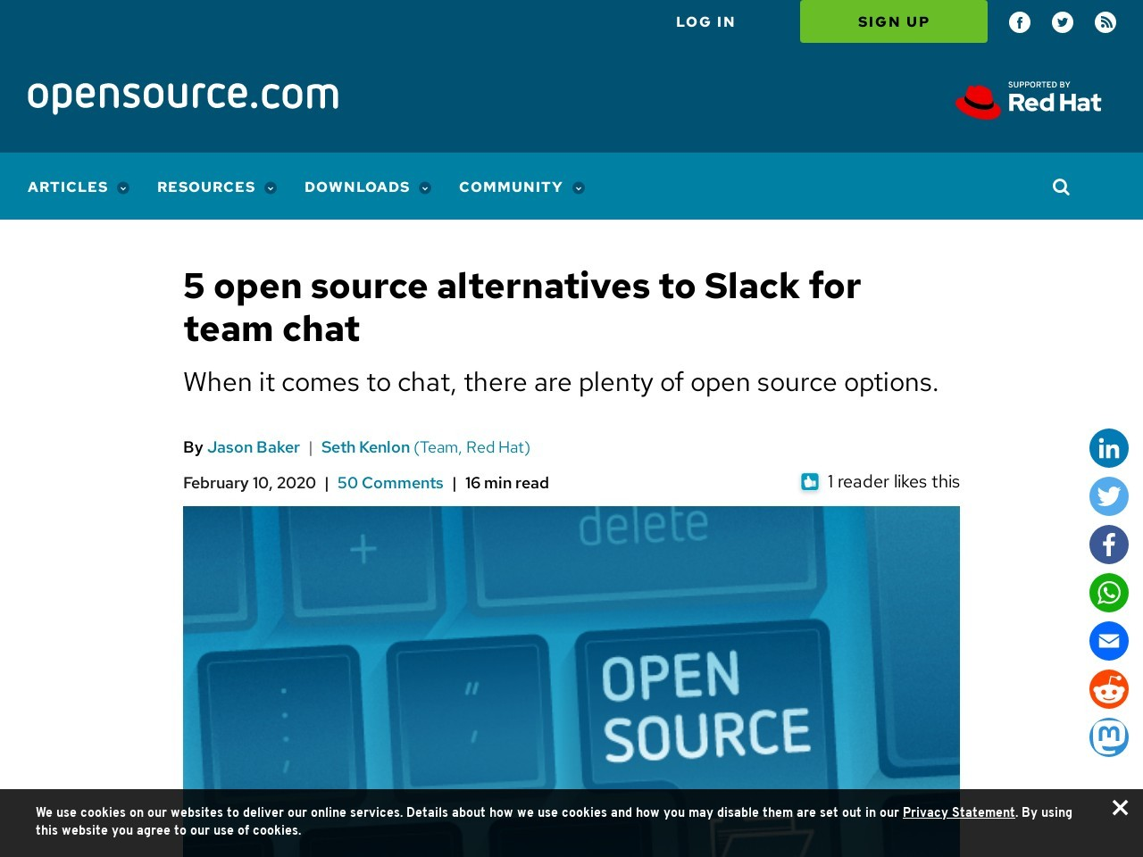 4 open source alternatives to Slack for team chat
