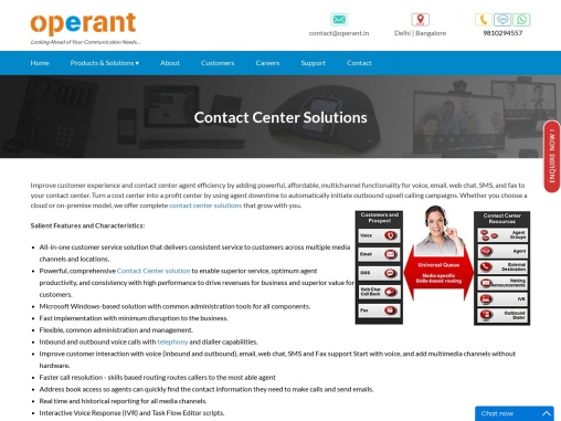 Call Center Solutions | Contact Center Solutions