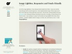 Image Lightbox, Responsive and Touch‑friendly — Osvaldas Valutis