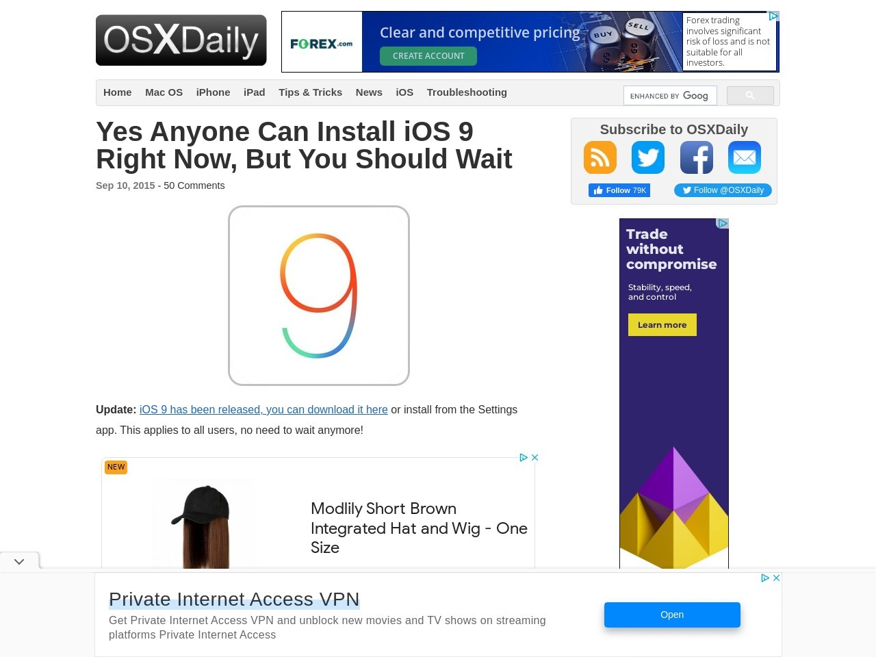 Yes Anyone Can Install iOS 9 Right Now, But You Should Wait