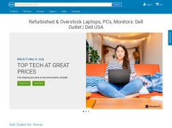 Dell Outlet screenshot